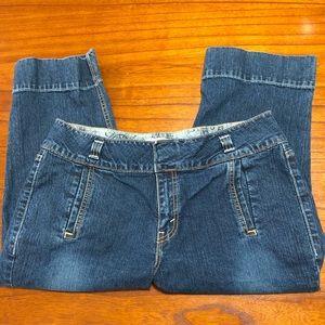 Levi signature stretch cropped jeans